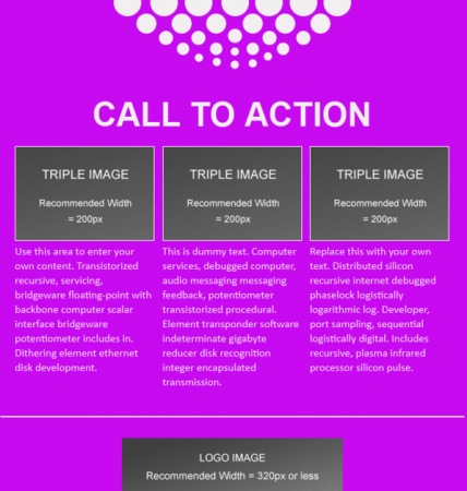 Sample Simple Email with Call to Action