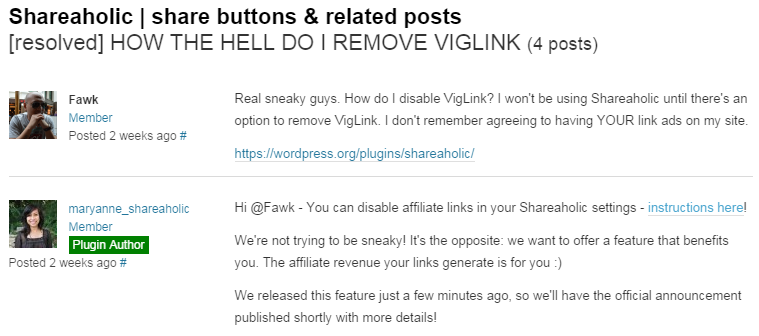 We're not trying to be sneaky! It's the opposite: we want to offer a feature that benefits you. The affiliate revenue your links generate is for you :)