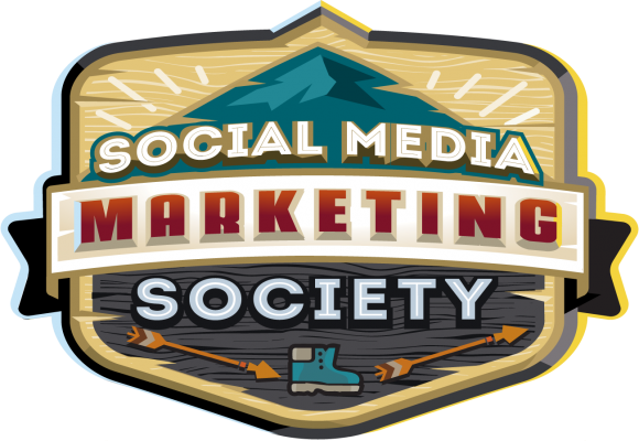 Social Media Marketing Society Logo Badge