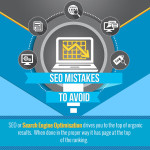 Avoid these SEO Mistakes! [INFOGRAPHIC]