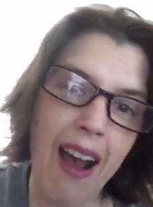 Screenshot of me from my first periscope
