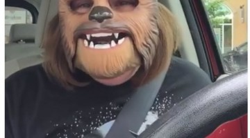 Why the Chewbacca Mask Lady Video Has Over 140M Views